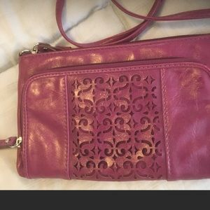 🎃RELIC purple laser cut authentic crossbody bag
